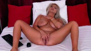 Sensual Blonde with Big Titties Will Stuck in Your Head