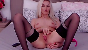 Hot Blonde Wants Your Cock